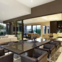 Contemporary Luxury Kitchen Meals Dining Area Designer Interiors service Gurgaon New DELHI