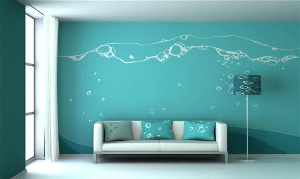 House Wall Design Colour : Paints plaster of paris pop gurgaon interiors designers