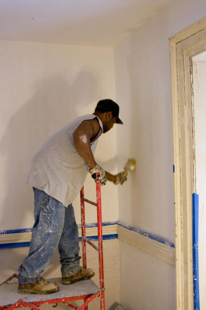 whitewashing-waterproofing-painting-polisghing-wooden-walls-ceiling-bricks-delhi-gurgaon-india
