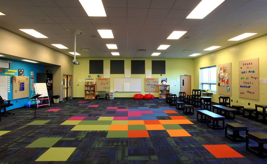 High School-Elementary-School-Interior-Classroom
