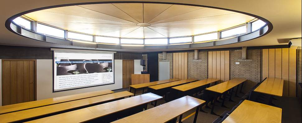 best design for lecture theatre for school college university in india delhi gurgaon